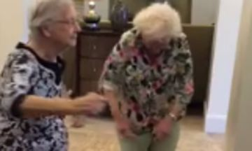 Inspiring Octogenarians 'Whip,' Now Watch Them 'Nae Nae'