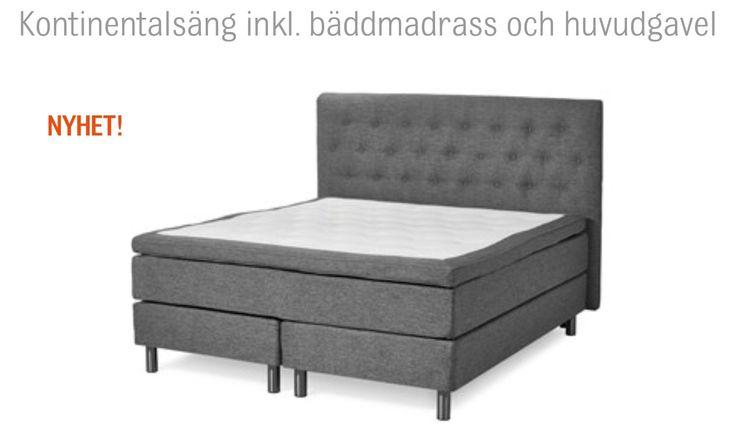 Beställt ny härlig säng från Mio  Sovrummet ♡  Pinterest