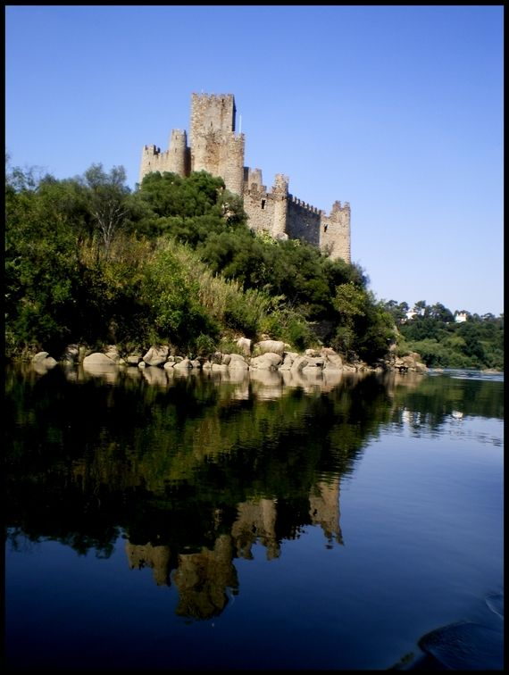 Almourol Castle - Templars know how to choose places for their buildings.
