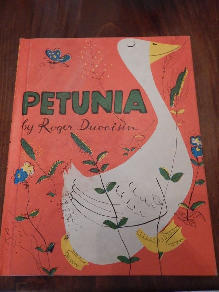 Vintage Petunia Roger Duvoisin 1st ed Weekly Reader Illustrated Children's Book