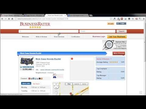 Website Review - Business Rater - Ask Evan