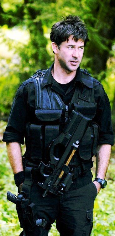 Joe Flanigan as Major John Sheppard | Stargate Atlantis