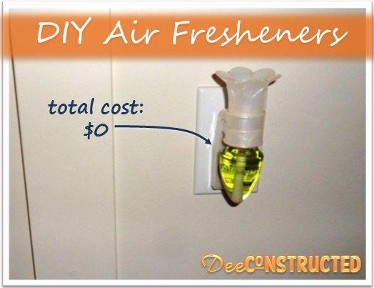 DIY Air Freshener omg this is genius