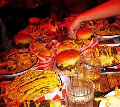 5 of the best Man vs. Food challenges in London. MEATliquor, Soho!
