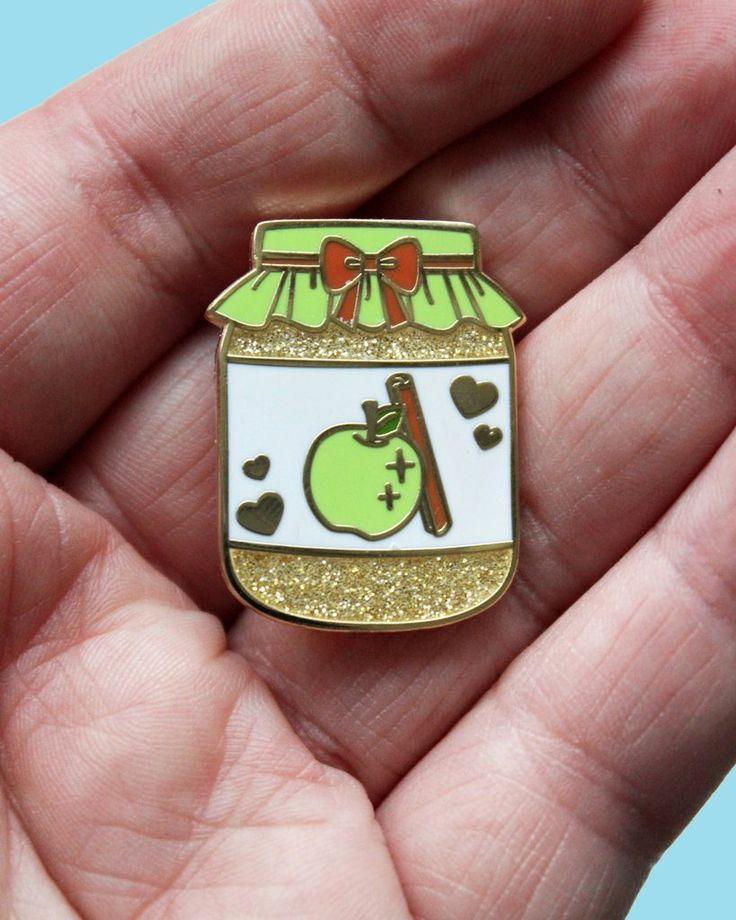Apple Butter - Precious Preserves Series 2 Hard Enamel Glitter Pin