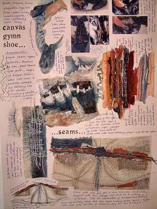 Gwen Hedley: sketchbook presentation ideas