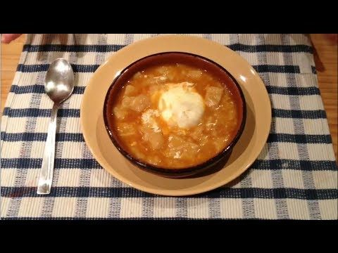 45 best cocina sopas y cremas images on pinterest soups - Sopa castellana youtube ...