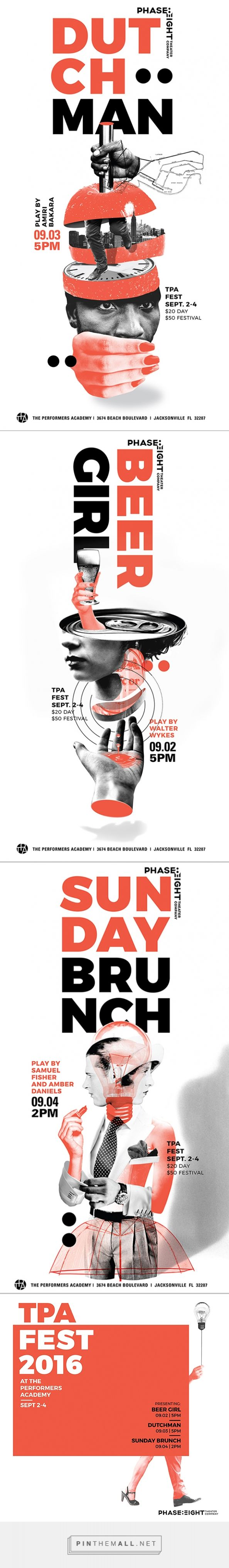 Phase Eight Poster Series on Behance