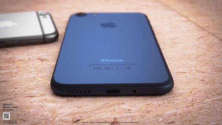 iPhone 7...dar blue?