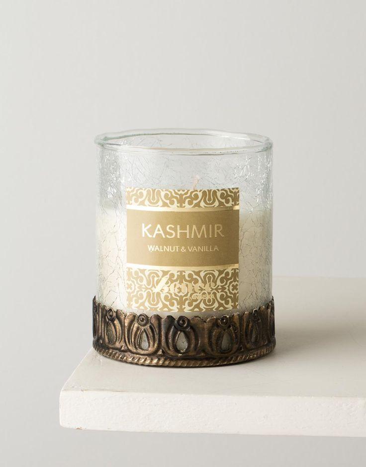 Scent of India doftljus - Kashmir   Vet att Claudia haft ett sånt ljus och att hon blev helt förkrossad när hon tappade det i golvet. Kanske köpa ett nytt? Stort 149 kr och litet 79 kr.