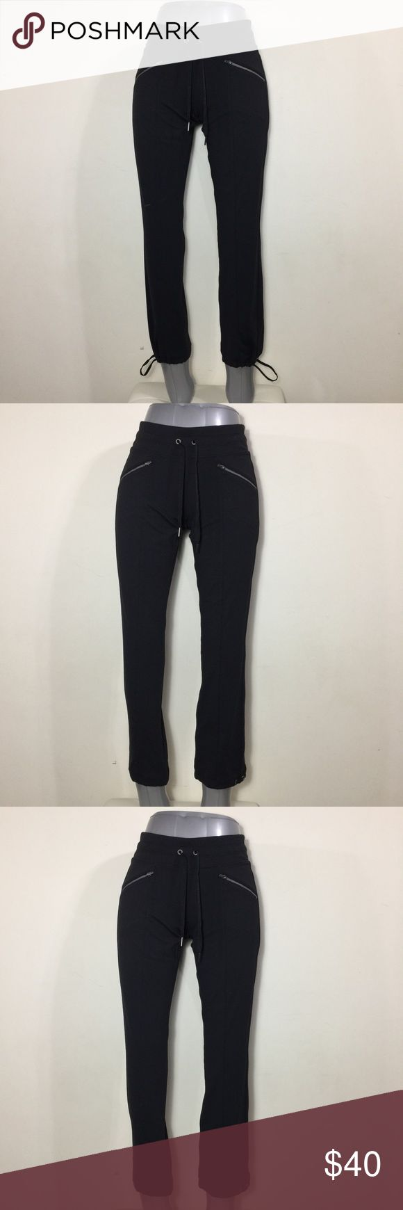 NWT Athleta Women's Yoga Pant Metro Slouch Sz XS Very soft, stretchy material with strings at hem. New with tags! Athleta Pants Track Pants & Joggers