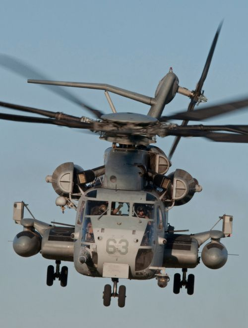 Sikorsky CH-53E Super Stallion, the largest and heaviest helicopter in the United States Military