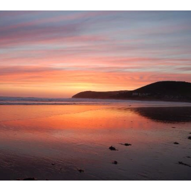 Sunset at Croyde Bay - beautiful!