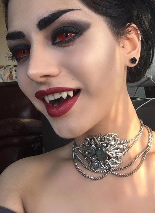 Образ вампира на Хэллоуин | Макияж на Хэллоуин в 2019 г ...