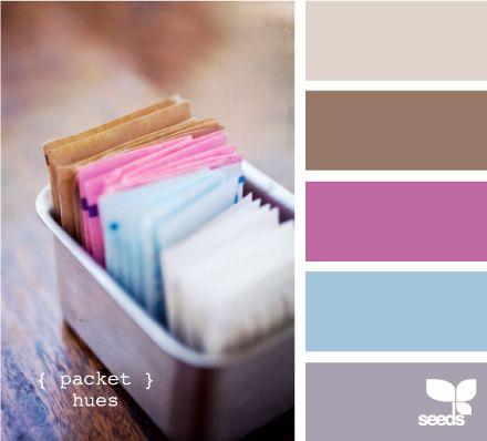 packet hues: Packets Hue, Colors Combos, Nurseries Colors, Design Seeds, Bedrooms Colors, Colors Combinations, Colors Palettes, Colour Palettes, Colors Inspiration