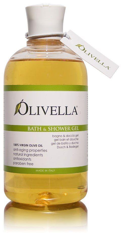 "Olivella Bath & Shower Gel – ""Classic"" – 16.9 fl. oz. (500 ml) – Pack of 3"