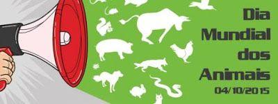 """""""O GRITO DO BICHO"""": Eventos para o Dia Mundial dos Animais"""