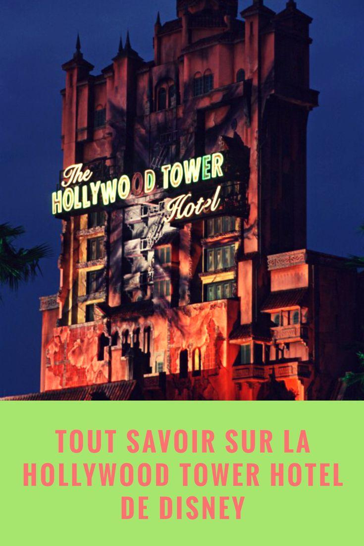 La Hollywood Tower Hotel des Parcs Disney existe-t-elle vraiment ? Direction Los Angeles en Californie, pour découvrir les lieux qui ont inspiré les Imagineers de Disney :)  #Hollywoodtowerhotel #disney #californie #losangeles