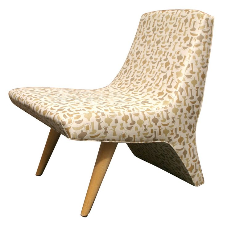 """Unique Modern Chair in George Nelson's """"China Shop"""" 