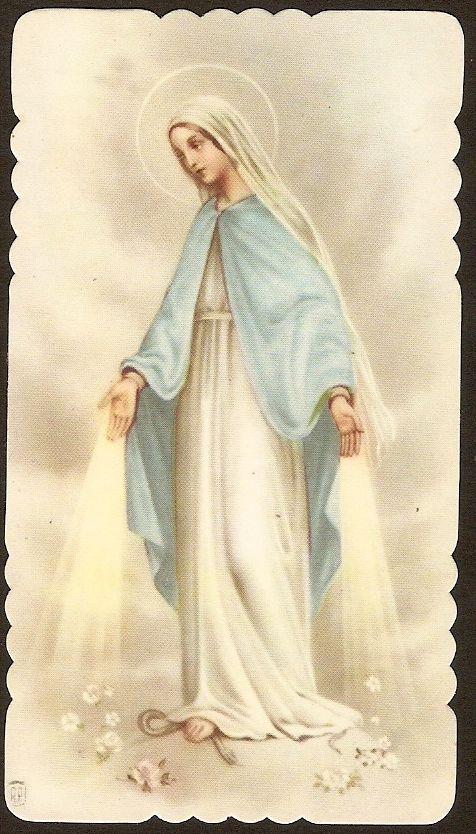 ESTAMPA antigua Virgen Milagrosa andachtsbild santino holy card santini - EUR 3,00. Estampa antigua Virgen Milagrosa. 222405947792