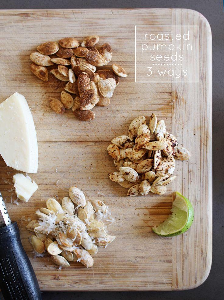 how to make roasted pumpkin seeds sweet