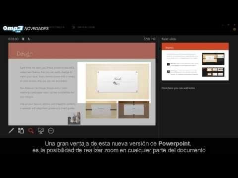 PowerPoint 2013, disponible en Español