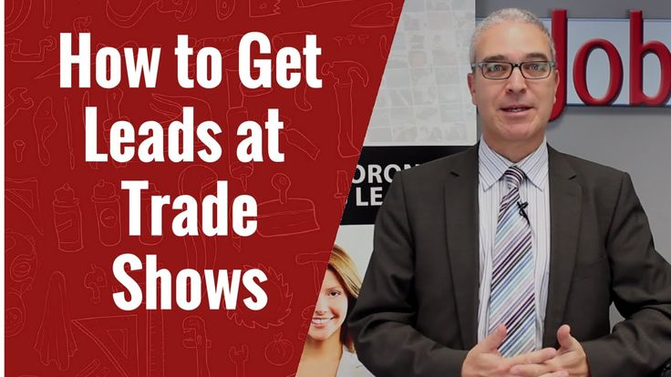 How to Get Leads at a Trade Shows