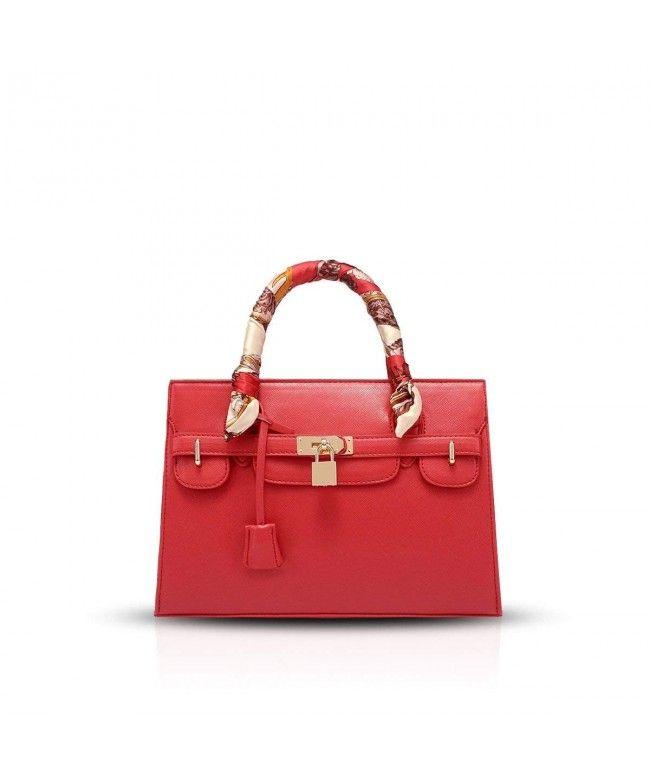 0e656caa053b 2019 New Large bag shoulder bag handbag cross pattern handbag Platinum  package - Big Red -