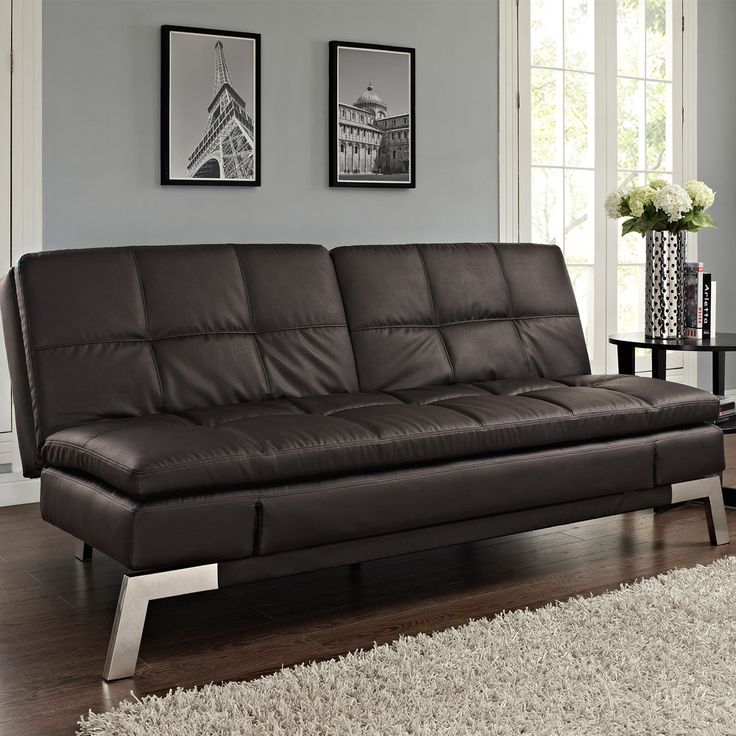 Costco Futons Couches in 2020 Leather sofa bed, Futon