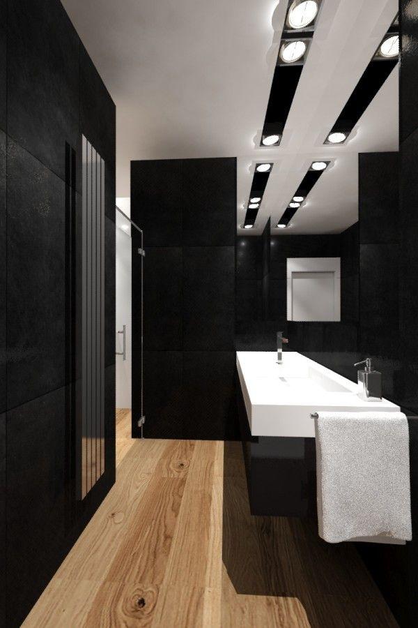 Projekt łazienki goscinnej
