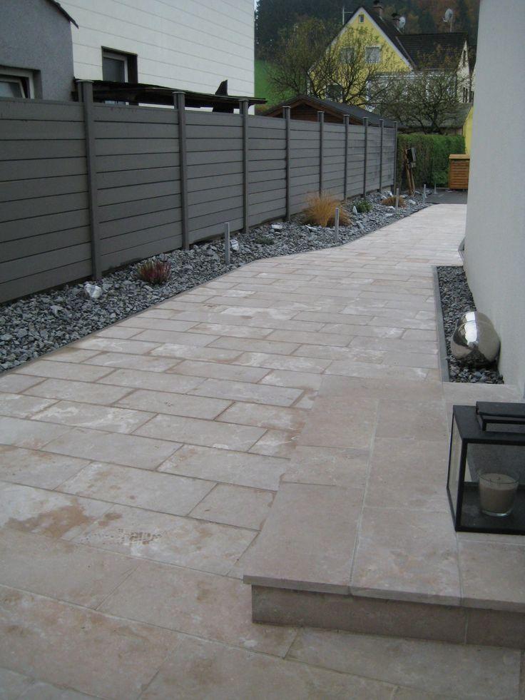 Terrasse Travertin Nachteile : 25+ b u00e4sta id u00e9erna om Terrassenplatten naturstein p u00e5