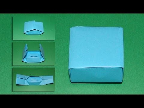 How To Make An Origami Box 02 ***
