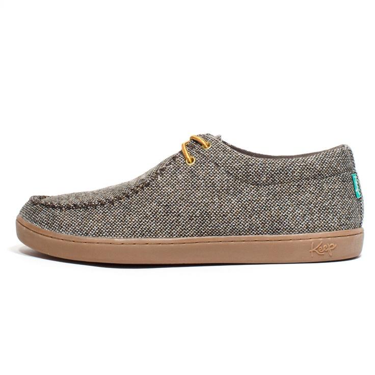 Solis Shoe in Melange Tweed. Grandpa SweaterMen ...