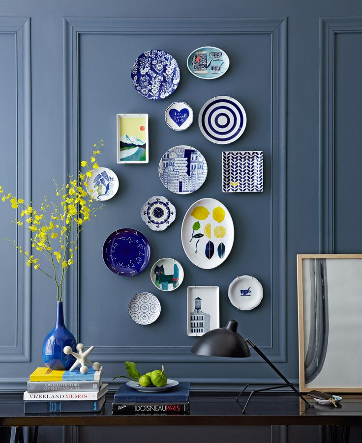 west elm - How To Decorate With Blue Paint