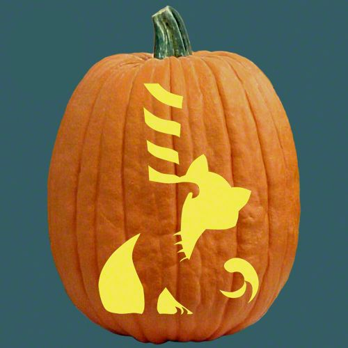 1000 ideas about cat pumpkin carving on pinterest cat Cat pumpkin carving patterns