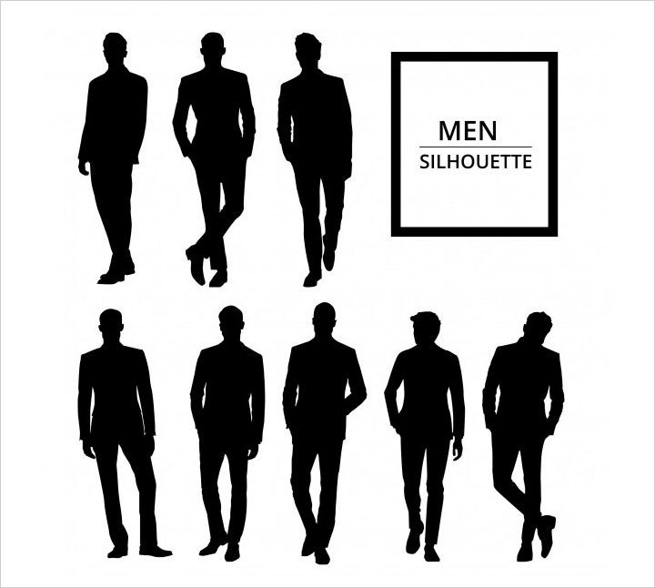 50 Free High Quality Silhouette Sets Silhouette Vector