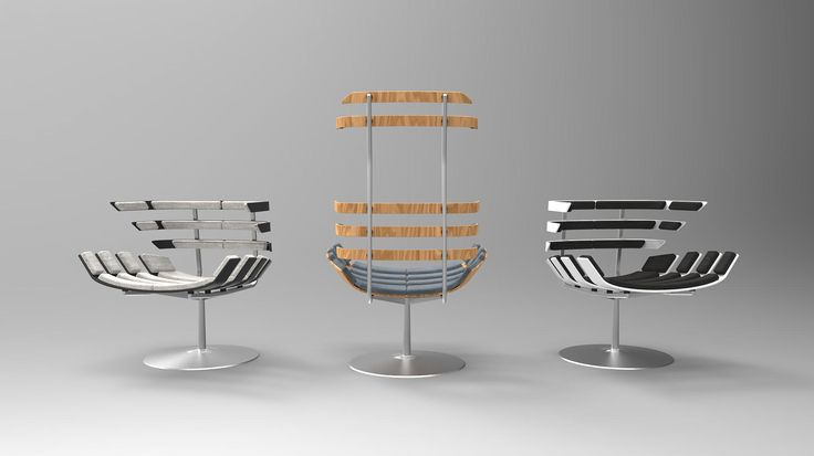 BONE - Bone is a series of two armchairs, one with a headrest and one without. The two chairs are made of wooden staves padded and fixed on a steel structure.