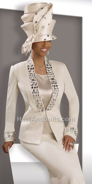 Donna Vinci KNITS Women Church Suit 2902