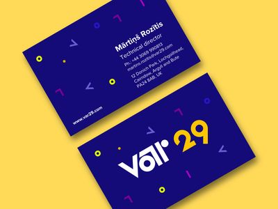 Business Cards concept
