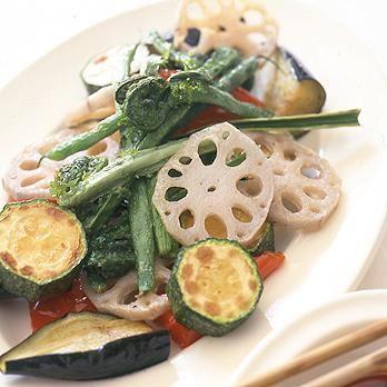 揚げ野菜のピリ辛だれ | 春山みどりさんの揚げものの料理レシピ | プロの簡単料理レシピはレタスクラブネット