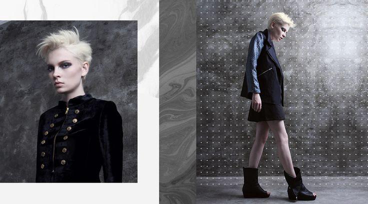 LOOKBOOK N.F.R.T S/S 2015 - Rocker Glam. Available now at shopnefertiti.com.