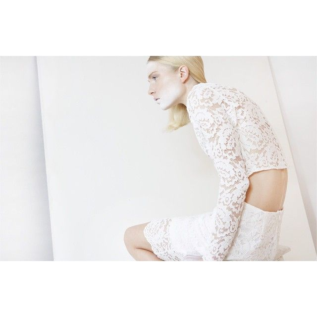 And another one , from theloop.gr online magazine ft. 'Camelia' crop top & 'Dahlia' skirt. #giuliashandmadeclothing#lace#white#theloop#online#magazine#feature