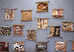 Aboriginal Australian bark painting!