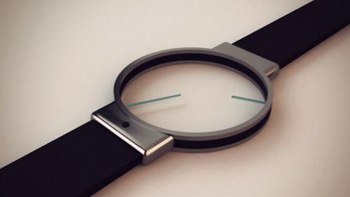 Minimal Analog Watch Design di Roderick