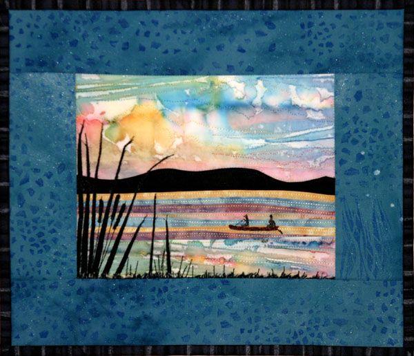 41 best Accidental Landscape Quilts images on Pinterest | Beach ... : landscape quilting fabric - Adamdwight.com