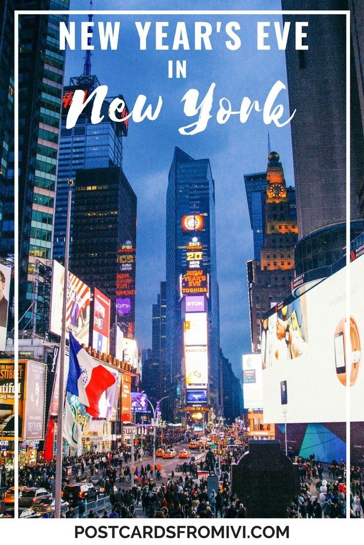 How To Spend New Year S Eve In New York New York New Years Eve