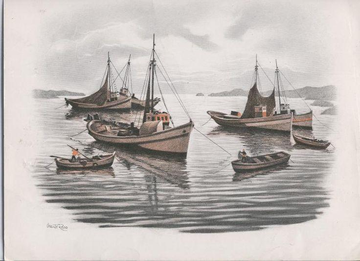 Lamina Marina por Vicente Roso