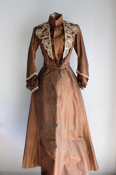 Iridescent Satin Dress
