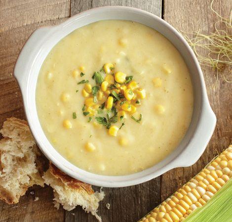 + Corn Chowder Recipes on Pinterest | Easy corn chowder, Chicken corn ...