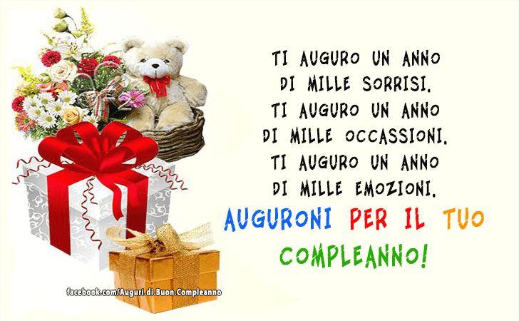 Auguri di Buon Compleanno   Auguroni per il tuo compleanno!